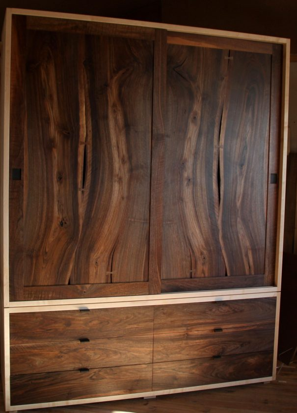 Sifonier lemn masiv